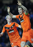 Football - Scottish Premier League - Rangers vs. Dundee United<br /> <br /> Jon Daly of Dundee United celebrates scoring during the Rangers vs. Dundee United Scottish Premier League match at Ibrox Stadium Glasgow on November 5th 2011<br /> <br /> <br /> Ian MacNicol/Colorsport