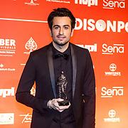 NLD/Amsterdam/20150202 - Edison Awards 2015, Dotan met zijn award