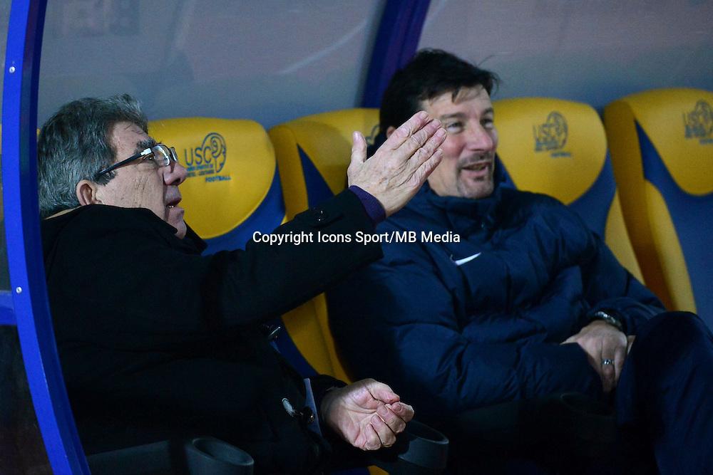 Armand LOPES / Thierry FROGER - 23.01.2015 - Creteil / Laval - 21eme journee de Ligue 2<br /> Photo : Dave Winter / Icon Sport