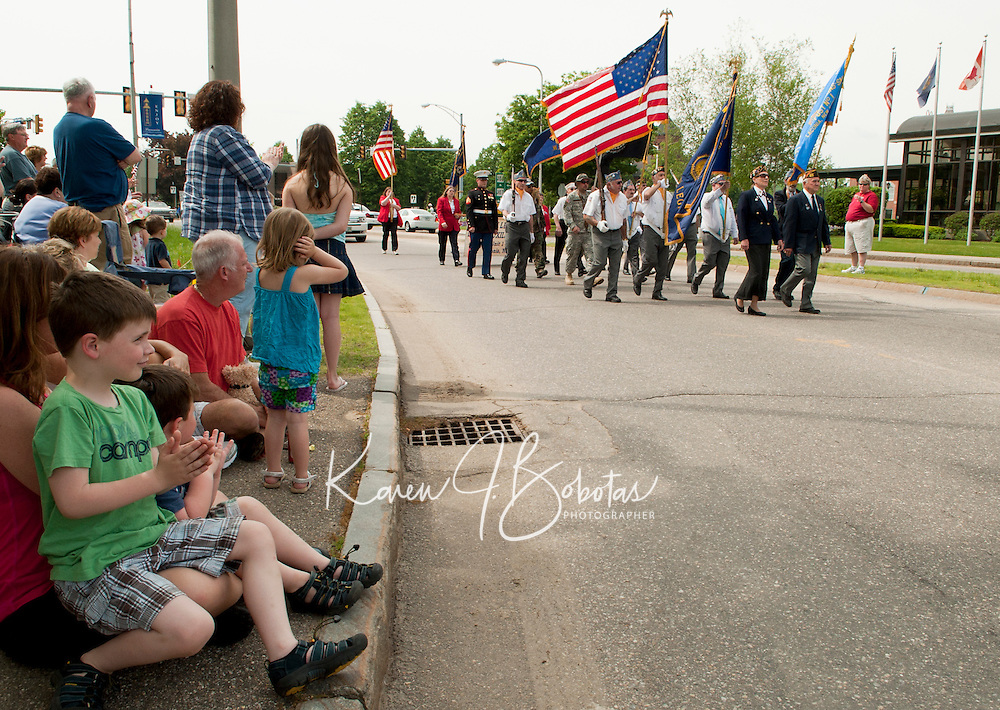 (Karen Bobotas/for the Laconia Daily Sun)Memorial Day parade and services in Laconia, New Hampshire  May 30, 2011.  Karen Bobotas/for the Laconia Daily Sun