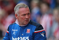 Stoke City manager Paul Lambert  - Mandatory by-line: Jack Phillips/JMP - 22/04/2018 - FOOTBALL - Bet365 Stadium - Stoke-on-Trent, England - Stoke City v Burnley - English Premier League