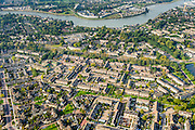Nederland, Zuid-Holland, Krimpen aan den IJssel, 28-09-2014; nieuwbouwwijk Boveneind met zicht op de Hollandsche IJssel.<br /> New housing estates and river Hollandse IJssel.<br /> luchtfoto (toeslag op standard tarieven);<br /> aerial photo (additional fee required);<br /> copyright foto/photo Siebe Swart