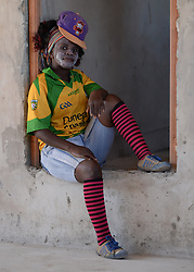 Nov. 21, 2014 - Mthatha, Eastern Cape, South Africa - A portrait of the young woman from Mandela's homeland of Mthatha. Mthatha, Eastern Cape, South Africa. (Picture by: Artur Widak/NurPhoto) (Credit Image: © Artur Widak/NurPhoto/ZUMA Wire)