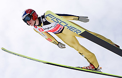 Antonin Hajek of Czech republic competes during Flying Hill Individual Qualifications at 1st day of FIS Ski Flying World Championships Planica 2010, on March 18, 2010, Planica, Slovenia.  (Photo by Vid Ponikvar / Sportida)
