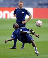 Photo: Richard Lane.<br />Chelsea training session. UEFA Champions League. 30/10/2006. <br />Shaun Wright-Phillips.