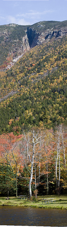 Crawford Notch, Willey Pond and Webster Mountain
