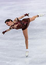 23-02-2018 KOR: Olympic Games day 14, PyeongChang<br /> Ladies Single Skating Free Skating / Silver medal for Evgenia Medvedeva