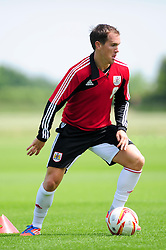 Bristol City's Neil Kilkenny - Photo mandatory by-line: Dougie Allward/JMP - Tel: Mobile: 07966 386802 28/06/2013 - SPORT - FOOTBALL - Bristol -  Bristol City - Pre Season Training - Npower League One