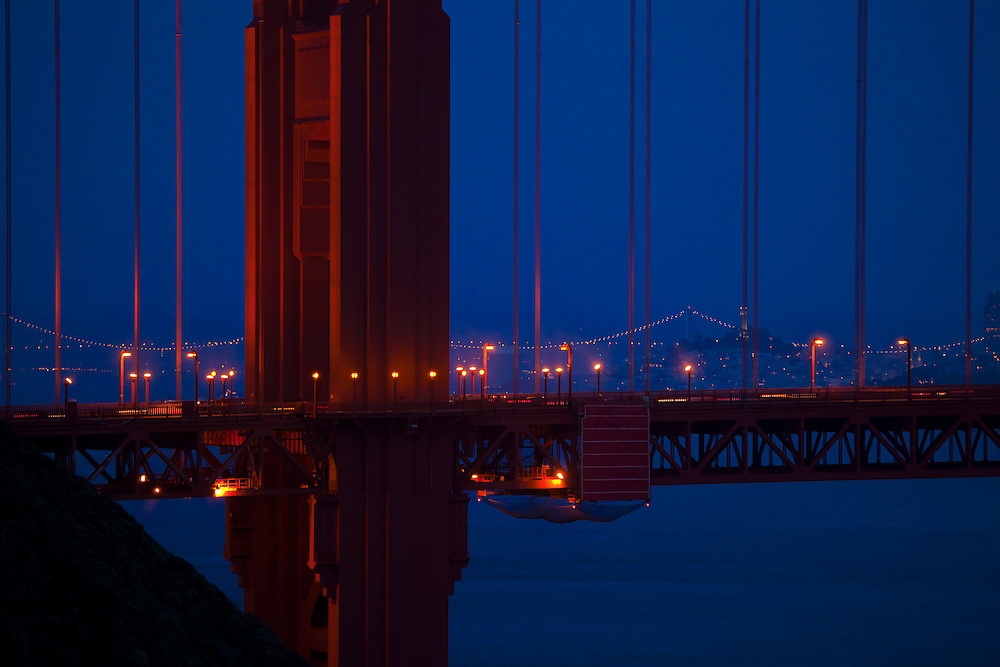 """Waiting for the """"Super Moon"""" to rise.  Photographed from the headlands on the way down to Kirby Cove."""