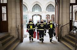 THEMENBILD - THEMENBILD, Berufsfeuerwehr Wien. Aufgenommen am 12.03.2019 in Wien, Österreich // Firefighter in Vienna, Austria on 2019/03/12. EXPA Pictures © 2019, PhotoCredit: EXPA/ Michael Gruber