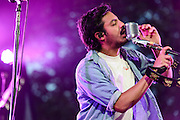 Photos of the rock band Young The Giant performing at Central Park Summerstage, NYC. July 16, 2012. Copyright © 2012 Matthew Eisman. All Rights Reserved.