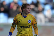 Brighton Womens goalkeeper Sophie Harris (19) during the FA Women's Super League match between Manchester City Women and Brighton and Hove Albion Women at the Sport City Academy Stadium, Manchester, United Kingdom on 27 January 2019.