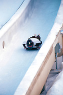 skeleton racing Utah Olympic Park, Park City, Utah