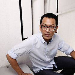 Thai director Pen-ek Ratanaruang at the 62th Cannes Film Festival. France. 20 May 2009. Photo: Antoine Doyen