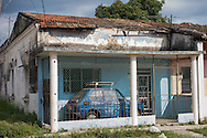 But you have a tiny Citroen and front porch just the right size. <br /> <br /> Marianao, Havana, Cuba, 2015