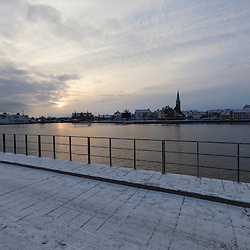 Helsinor habour and city