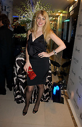 MEREDITH OSTROM at the launch of Roberto Cavalli Vodka held in the International Designer Room, Harrods, Hans Crescent, London on 5th December 2006.<br /><br />NON EXCLUSIVE - WORLD RIGHTS