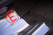 November 21-23, 2014 : Abu Dhabi Grand Prix, Mclaren engine cover detail