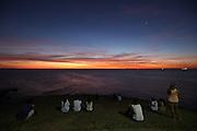 Salvador_BA, Brasil.<br /> <br /> Por do Sol Baia de todos os santos em Salvador, Bahia.<br /> <br /> The sunset in Baia de Todos os Santos in Salvador, Bahia.<br /> <br /> Foto: RODRIGO LIMA / NITRO