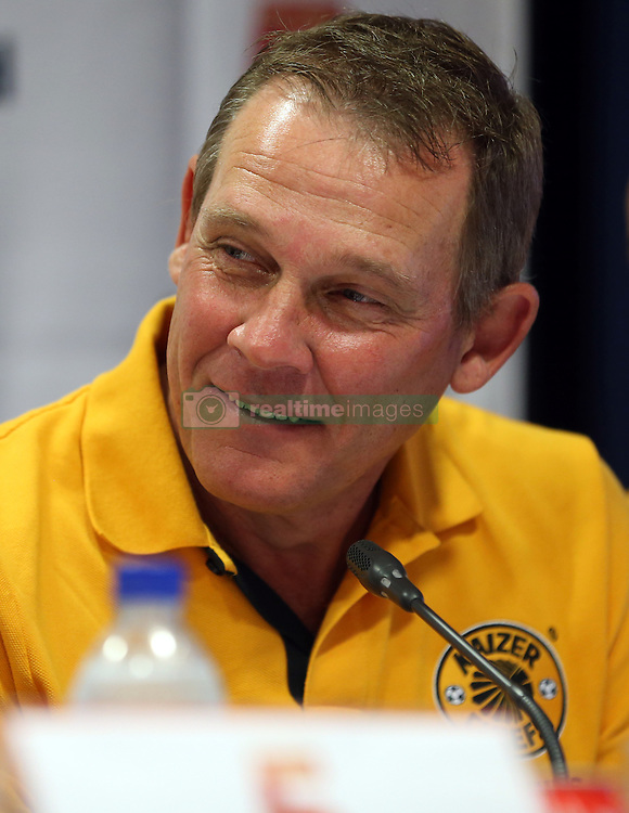 DURBAN, SOUTH AFRICA - NOVEMBER 14: Neil Tovey during the Liverpool FC Legends Tour Pre-match press conference at Moses Mabhida Stadium on November 14, 2013 in Durban, South Africa. <br /> (Photo by Steve Haag)