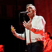 "BETHESDA, MD, DC - January 16th, 2013 - British music legend Morrissey performs at the Strathmore Music Hall. His set included solo hits like ""Everyday Is Sunday"" as well as material from The Smiths, such as ""Still Ill.""( Photo by Kyle Gustafson/For The Washington Post)"