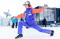 BILDET INNGÅR IKKE I FASTAVTALER. ALL NEDLASTING BLIR FAKTURERT.<br /> <br /> Hopp<br /> Foto: imago/Digitalsport<br /> NORWAY ONLY<br /> <br /> Bad Mitterndorf 16.01.2016, Kulm, Bad Mitterndorf, AUT, FIS Skiflug WM, Kulm, Vorbereitung, im Bild Daniel Andre Tande (NOR) // Daniel Andre Tande of Norway prepares before the trial Jump of FIS Ski Flying World Championships at the Kulm in Bad Mitterndorf, Austria on 2016/01/16.