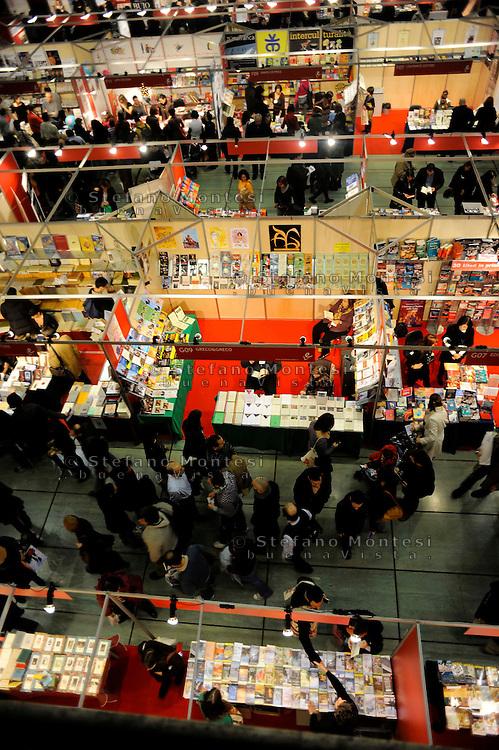 Roma Dicembre 2009.Eur, Palazzo dei Congressi.Più libri più liberi, la Fiera nazionale della piccola e media editoria.