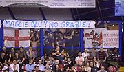 DESCRIZIONE : Venezia campionato serie A 2013/14 Reyer Venezia EA7 Olimpia Milano <br /> GIOCATORE : tifosi<br /> CATEGORIA : tifosi<br /> SQUADRA : EA7 Olimpia Milano<br /> EVENTO : Campionato serie A 2013/14<br /> GARA : Reyer Venezia EA7 Olimpia<br /> DATA : 28/11/2013<br /> SPORT : Pallacanestro <br /> AUTORE : Agenzia Ciamillo-Castoria/A.Scaroni<br /> Galleria : Lega Basket A 2013-2014  <br /> Fotonotizia : Venezia campionato serie A 2013/14 Reyer Venezia EA7 Olimpia  <br /> Predefinita :