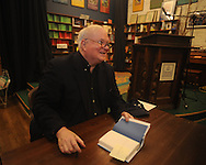 "Author Pat Conroy appears at Off Square Books to sign and talk about his book ""My Reading Life"" in Oxford, Miss. on Wednesday, November 3, 2010."