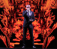 Amsterdam (Holland). 14-9-2012. Sold out concert for a live audience from George Michael held at the Ziggo Dome. On the photo George Michael. <br /> George Michael is overleden .