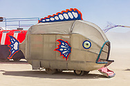 Fish Mutant Vehicle Name Unknown My Burning Man 2019 Photos:<br />