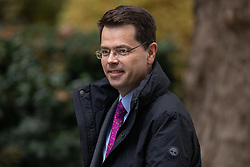© Licensed to London News Pictures. 06/11/2018. London, UK. Housing, Communities and Local Government Secretary James Brokenshire arriving in Downing Street to attend a Cabinet meeting this morning. Photo credit : Tom Nicholson/LNP