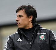 Chris Coleman, arriving for the Wales Training at the Vale Resort, Hensol<br /> Picture by Mike Griffiths/Focus Images Ltd +44 7766 223933<br /> 10/11/2015