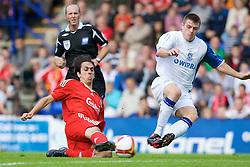 BIRKENHEAD, ENGLAND - Saturday, July 12, 2008: Liverpool's Yossi Benayoun during his side's first pre-season match of the 2008/2009 season against Tranmere Rovers at Prenton Park. (Photo by David Rawcliffe/Propaganda)