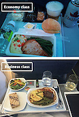 Airline Food: Economy Vs. First Class