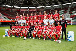September 7, 2017 - Waregem, BELGIUM - Illustration picture shows pose for the photographer during the 2017-2018 season photo shoot of Belgian first league soccer team SV Zulte Waregem, Friday 07 July 2017 in Waregem. BELGA PHOTO KURT DESPLENTER (Credit Image: © Kurt Desplenter/Belga via ZUMA Press)