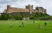 ENGLAND: Bamburgh Castle, Northumberland