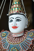 Puppet for sale at handicraft shop.