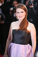 Actress Julianne Moore attending the gala screening of The Great Gatsby at the Cannes Film Festival on 15th May 2013, Cannes, France.