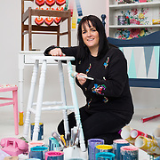 27.01.17<br /> Joanne Condon, Kyle Lane, Upcycled Furniture for Greener Home Hints Launch. Picture: Alan Place