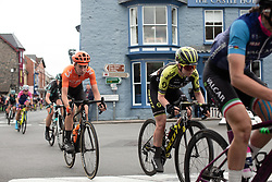 Riejanne Markus (NED) of CCC-Liv Team rides through Rhayader on Stage 5 of 2019 OVO Women's Tour, a 140 km road race from Llandrindod Wells to Builth Wells, United Kingdom on June 14, 2019. Photo by Balint Hamvas/velofocus.com