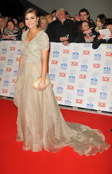 Brook Vincent Arrives At The annual National Television Awards 2013, O2 Arena, Greenwich, London, UK, January 23, 2013. Photo by i-Images.