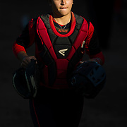 02 March 2018: San Diego State softball hosts Minnesota on day two of the San Diego Classic I at Aztec Softball Stadium. The Aztecs beat the #21/20 Gophers 6-2.<br /> More game action at sdsuaztecphotos.com