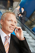 Businessman Telephoning