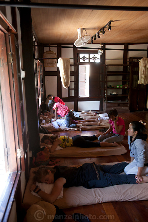 Massage in Luang Prabang, Laos.