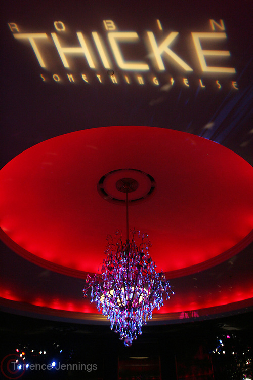 Atmosphere at the Robin Thicke?s Album Release ' Something Else' with Exclusive Event at Rainbow Room sponsored by Target on September 20, 2008 in New York City.