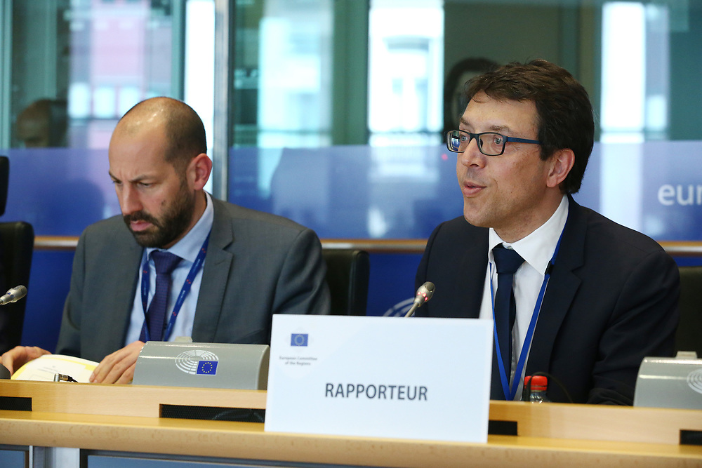 12 May 2017, 123rd Plenary Session of the European Committee of the Regions <br /> Belgium - Brussels - May 2017 <br /> <br /> Mr Christophe Clergeau (FR/PES) <br /> <br /> &copy; European Union / Patrick Mascart
