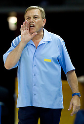 Michael Fratello, head coach of Ukraine during basketball match between National teams of Russia and Ukraine in Group D of Preliminary Round of Eurobasket Lithuania 2011, on August 31, 2011, in Arena Svyturio, Klaipeda, Lithuania. (Photo by Vid Ponikvar / Sportida)
