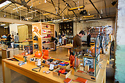 DETROIT, MI - OCTOBER, 30: The Shinola store in Detroit, Michigan, Thursday, October 30, 2014. (Photo by Jeffrey Sauger )