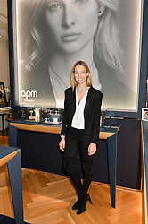 IIONA SMET the face of APM Monaco at a party to celebrate the launch of the APM Monaco Flagship Store at 3 South Molton Street, London on 11th February 2016